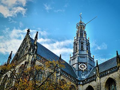 Houthandel in Haarlem