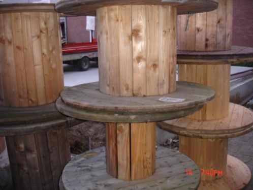 Kabelhaspel hout kopen